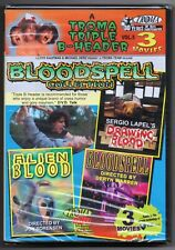 Drawing Blood (1999), Alien Blood (1999) & Bloodspell (1988) Collection DVD, NEW