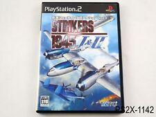 Strikers 1945 1&2 Playstation 2 Japanese Import PS2 Japan 1 2 II JP US Seller