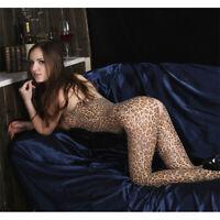 Hot Women Sexy Open Crotch Fishnet Body Stocking Bodysuit Nightwear Ling YJZ
