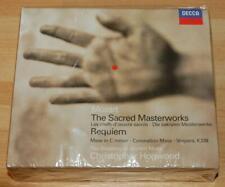 Mozart The Sacred Masterworks - Christopher Hogwood - Sealed Decca Treble CD