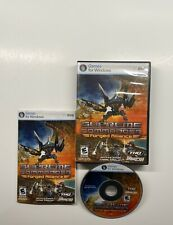 Supreme Commander: Forged Alliance (PC, 2007) w/ Case, Manual & Key