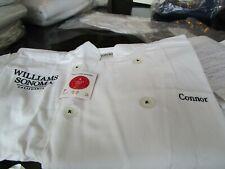 da9596ba30c Williams Sonoma Junior Chef Jacket small + chef hat monogrammed Connor see  photo