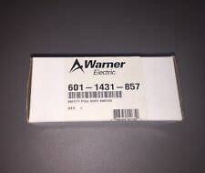 *NEW* WARNER ELECTRIC (BERNSTEIN) 601-1431-857 SAFETY PULL ROPE SWITCH D-32457
