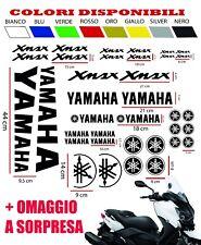 Adesivi  MOTO YAMAHA XMAX X MAX X-max 125 250 400 CARENA KIT 36 pz + OMAGGI
