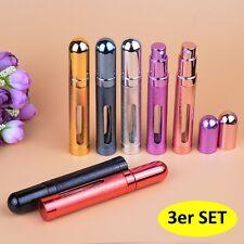 Parfümzerstäuber 3er Set Reise Zerstäuber 3 x 12 ml nachfüllbar Atomizer NEU