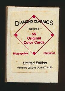 1983 Diamond Classics Baseball Card Series 2 Complete Set