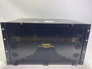 Evertz MVP3000 multi-image processor HD SDI and SDI
