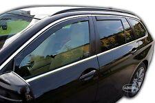 SUN SHADE + Wind Deflectors BMW 5 SERIES F11 Estate 2010-2016  4 pcs HEKO Tinted