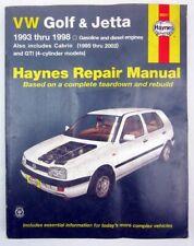 Haynes Manuals: Haynes VW Golf and Jetta 1993-1998 96017