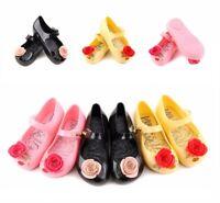 Cute Kids Girls Cute Mini Melissa Shoes Sandals Toddler US Size 6-11 HOT SALE