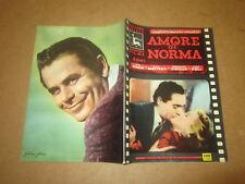 CINEROMANZO COLLANA ARIETE N°9-1954 AMORE DI NORMA L.RANDI G.MATTERA J.PINEUX