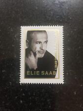 Lebanon 2018 Fashion Elie Saab Stamp