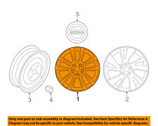 NISSAN OEM 17-18 Pathfinder-Wheel-Alloy Aluminum 403009PF2A