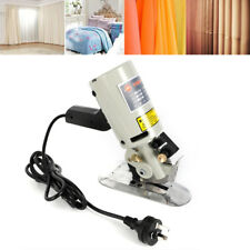 90Mm Electric Cloth Fabric Leather Scissor 110V Rotary Electric Blade Us