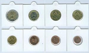 Francia 1 Cent Fino Set Monete Valuta (Selezionare Tra : 1999 - 2015)