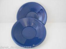 """(2) SE 8"""" PANNING GOLD PAN - BLUE"""