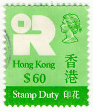 (I.B) Hong Kong Revenue : Stamp Duty $60