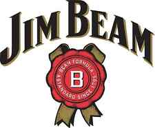 "Jim Beam Vinyl Sticker Decal 10"" (full color)"