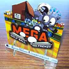 MEGA GOLF BALL FRENZY ORIGINAL NOS PINBALL MACHINE 3-D PLASTIC PROMO DISPLAY