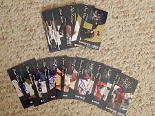 2007 PCL and IL All-Star both sets, 14 cards autographed total,