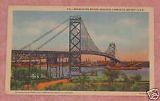 Ambassador Bridge, Windsor, Canada to Detroit, Michigan