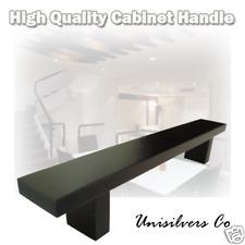 "8"" Black Finish Kitchen Cabinet Bar Pull Handle"