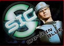 Captain Scarlet - CAPTAIN BLUE- SIG Embossed Chase Card SIG3