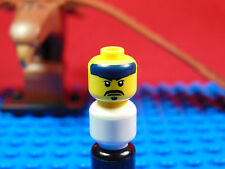 LEGO-MINIFIGURES SERIES [15] X 1 HEAD FOR THE KENDO FIGHTER FROM SERIES 15