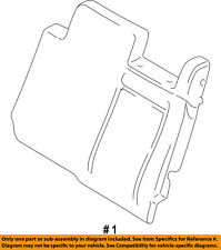 FORD OEM Rear Seat-Seat Cover-Top Back Right 2L1Z7866800AA