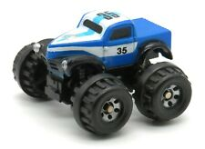"""1997 Micro Machines '41 Willys Pickup Truck Super 4x4 BLUE 1.5"""" by Galoob RARE!"""
