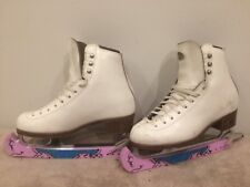 Riedell Size 3.5 Model 33Med Ice Skates Excelled  Condition Women's Ladies Girls