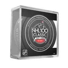 2017 NHL 100 Classic Official Game Puck Montreal Canadiens at Ottawa Senators