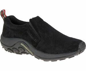 Merrell Men's Jungle Moc Slip-On Shoes, Midnight Black J63815W, Size 8 Wide