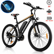 Elektrofahrrad Mountainbike E-bike 26'' Ebike 21Gänge 250W Motor Shimano Pedelec