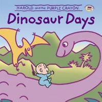 Harold and the Purple Crayon: Dinosaur Days by Baker, Liza