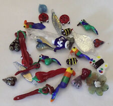 LGL- Handmade Lampwork Beads 30ea ORPHAN OUTDOOR #1 Ln619 - Sra- Jewelry Crafts