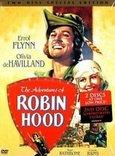 Adventures of Robin Hood 0012569513129 With Basil Rathbone DVD Region 1