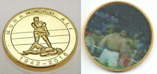 Muhammad Ali Gold 3D Coin Worlds Greatest Boxer Heavy weight Congo Olympic Old