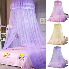 Large Lace Dome Mosquito Net Canopy Fly Insect Protect Princess Double King Size