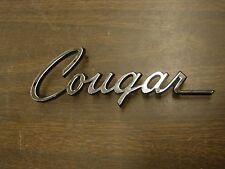 NOS OEM Ford 1974 Mercury Cougar Fender Emblem Trim Ornament XR7 Script