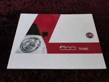 Fiat 2016 Sales Car Brochures