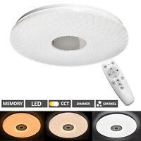 Plafonnier Chambre à Coucher LED avec Télécommande 48W Plafonnier