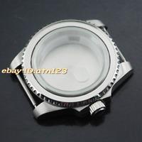 40mm watch case for ETA 2836,DG2813/3804,Miyota 82 Series movement + bezelx1,