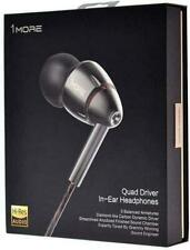 New SEALED! 1MORE Quad Driver in-Ear Earphones Hi-Res High Fidelity 1MEJE0032