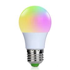 Durable E27 3 W RGB DEL Ampoule Feux Lumière Changement Couleurs Télécommande Living Room