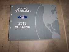 2013 Ford Mustang Electrical Wiring Diagram Manual Convertible GT Boss V6 V8