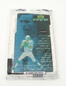 One - Vintage 2000 Upper Deck MVP 10 card pack Joe Montana Auto?Tom Brady RC's??