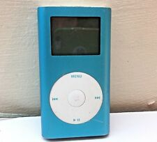 Apple iPod Mini 1st Generation Blue (4GB) Faulty Battery Issue Spares Or Repair