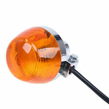 1 Pcs Orange Lens Turn Signals Light Indicator Lamp Universal for Suzuki GN125