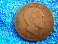Kupfer Münzen aus Spanien